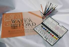 Watercolour matetials -used