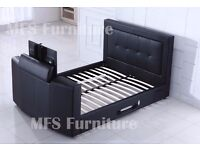 DOUBLE TV BEDS - KING SIZE TV BEDS - BRAND NEW - TRADE PRICES - DELIVERED