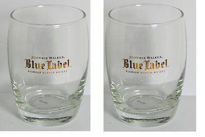 Johnnie Walker Blue Label Blended Scotch Whiskey Glasses - Set of 2