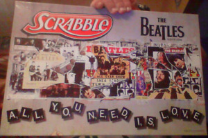 Beatles Scrabble Board Game For Sale Or Trade!
