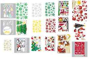 Christmas-Holiday-Season-Instant-Art-Home-Decor-Wall-Sticker-Decal-Sheet