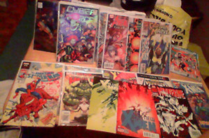 20 Assorted Comic Books For Sale Or Trade X-men Spiderman