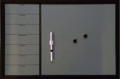 Wochenplaner 40 x 60 cm Magnettafel  Memoboard  Whiteboard Pinnwand Pinnboard