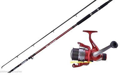 Shakespeare Omni 10 ft Rod & Reel Combo Pier Rock Mackerel Sea Fishing