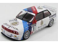 BMW M3 E30 Team Fina-BMW J.Cecotto DTM1992 1:18 Minichamps neu OVP 180922007