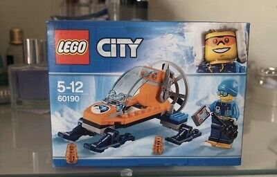 Lego City 60190 Arctic Ice Glider 50 Piece Mini Set New In Box Sealed