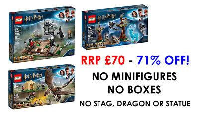 LEGO HARRY POTTER – 75945 75946 75965 – NO MINIFIGURES – BRAND NEW