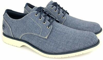 Timberland Woodhull Oxford Men's Blue Shoes 12 (NEW)