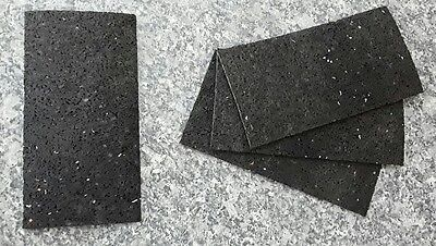 120 St. Auflagepads, Unterkonstruktion, Pads aus Gummigranulat, 150 x 76 x 3 mm