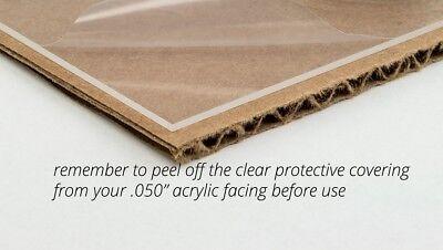 New Clear Acrylic Plexiglass .050