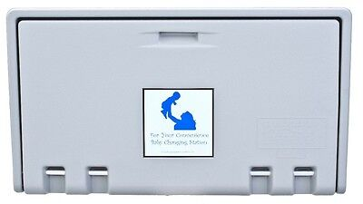 Baby Changing Station Private Labelallied Hand Dryer Gray Horiz Ahd100-01