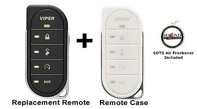 Viper 7856V 2 Way LED Remote Transmitter w/ White Colored Cover 87856VW Included