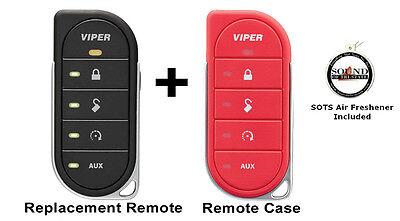 Viper 7856V 2 Way LED Remote Transmitter w/ Red Colored Cover 87856VR Included