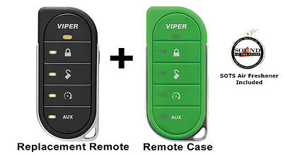 Viper 7856V 2 Way LED Remote Transmitter w/ Green Colored Cover 87856VG Included