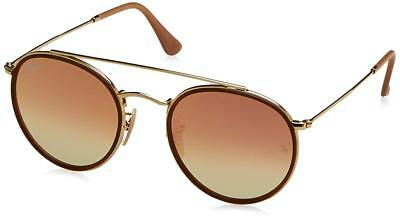 Authentic Ray-Ban RB3647N 001/70 51mm Gold / Gradient Copper Flash (Cheap Authentic Ray Bans)