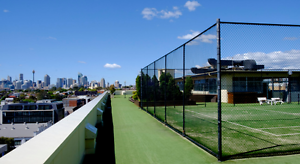 ROOFTOP TENNIS COURT FOR HIRE $40/HR Camperdown Inner Sydney Preview