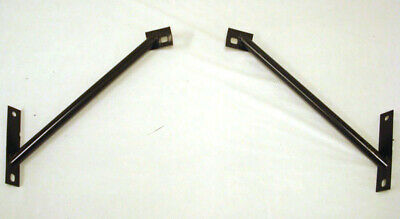 1964 1965 1966 Ford Mustang Front Bumper Outer Bracket LH + RH 1966 Ford Mustang Bumper