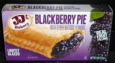 Jjs Bakery Lightly Glazed Snack Pies 4Oz  6X   Blackberry  Remember Hostess