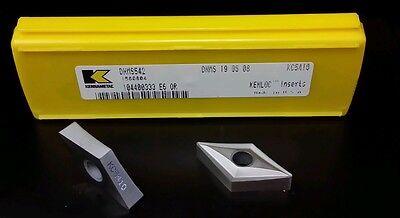 Kennametal Dnms542 Grade Kc5410 Carbide Inserts New 5pcs