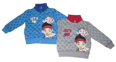 Boys Jacket Zip Up Disney Jake And The Neverland Pirates 2-6 Years Old ](Jake And The Neverland Pirates Jacket)