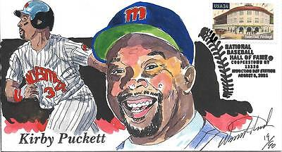 WILD HORSE HP MINNISOTA TWINS KIRBY PUCKETT HOF INDUCTION DAY SC 3515