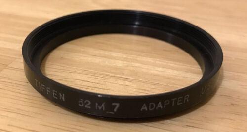 Tiffen 52 M 7 Camera Lens Adapter Ring