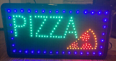 Ultra Bright Led Neon Light Pizza Business Open Sign