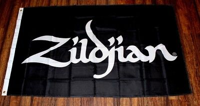 Zildjian Banner Flag Music Store Advertising Sign Drums Cymbals Percussion New