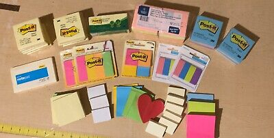 Post-it Notes Lot - Almost 5 Pounds Over 6000 Sticky Notes-