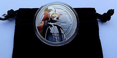 2017 1 oz Niue Silver Coin $2 Star Wars Darth Vader BU