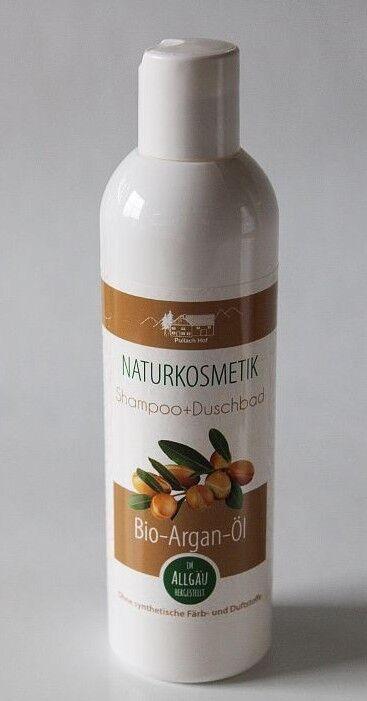 (1,59€/100ml) Arganöl Shampoo & Duschgel 250 ml Arganöl Körperpflege  parfumfrei
