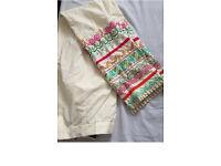Pakistani Limelight Designer Trouser Ladies UK Indian ONE SIZE