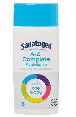 Sanatogen A-Z Komplette Multivitamin - 90 Tabletten - Komplette 90 Tabletten