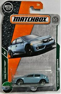 Matchbox 1/64 '17 Honda Civic Hatchback Diecast Car