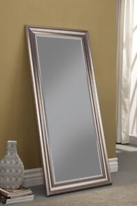 Full Length Mirror Champagne Silver/Bronze