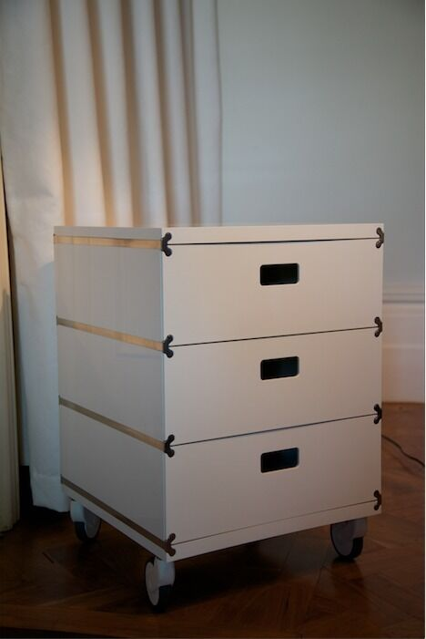 Designer 3 and 5 drawer Magis plus one units.