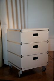 Designer 3 and 5 drawer units for sale.