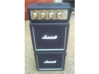 Marshall ms4 micro stack mini guitar amp