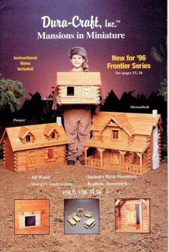 1997 Dura-Craft Mansions in Miniature Catalog