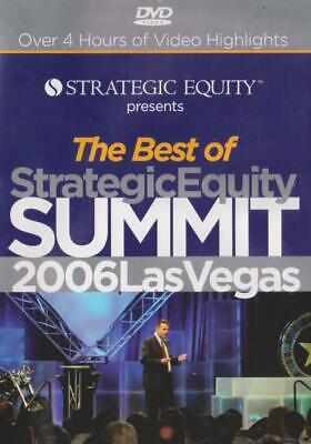 The Best Of Strategic Equity Summit 2006 DVD VIDEO SEMINAR real estate
