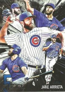 2017 Topps Five Tool Jake Arrieta Chicago Cubs 5T37