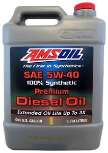 5W40 Synthetic Diesel Oil, 6.4L & 6.7L PS, Cummins & EcoDiesel