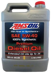 5W40 Synthetic Diesel Oil for 6.4L & 6.7L PS, Commins, EcoDiesel