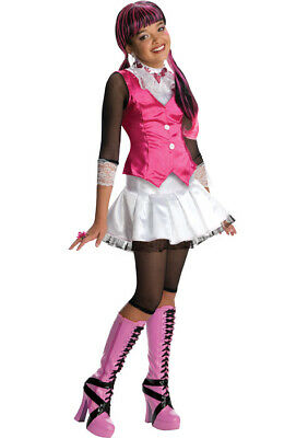 Brand New Monster High Draculaura Child Halloween Costume](Draculaura Monster High Halloween Costume)