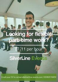 Hospitality Team Member at SilverLine Events LTD