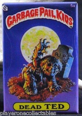 """Garbage Pail Kids Dead Ted 2"""" X 3"""" Fridge / Locker Magnet. Zombie"""