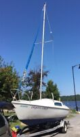 Charter SAILBOAT   for rent just $199 /week a louer