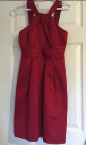 Red Knee Length Dress St. John's Newfoundland image 2