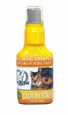 Calm My Dog Stress Mist Spray Anxiety Relief Barking Fear Riding Organic USA