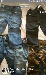 Name brand lot toddler jeans $20